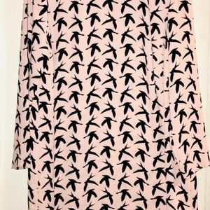 H&M Bird print dress